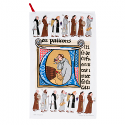 Monks Tea Towel