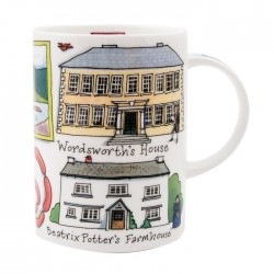 Lake District Wordsworth/ Beatrix Potter Mug