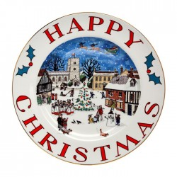 "Christmas Collection 8"" Plate"