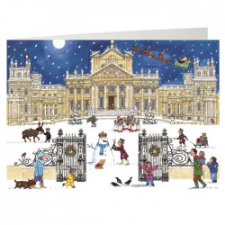 Christmas at the Palace Advent Calendar Card