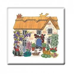 Cottage Garden Coaster