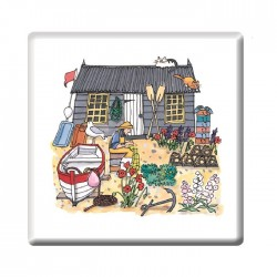Fisherman's Garden Coaster