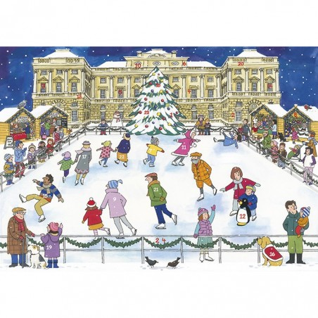 Christmas Ice Skating Advent Calendar