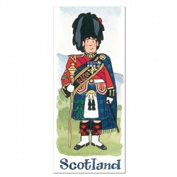 Scottish Drum Major Bookmark