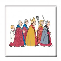 Cathedral Procession Coaster