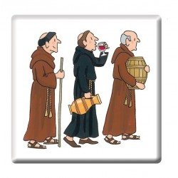 Monks Procession Coaster