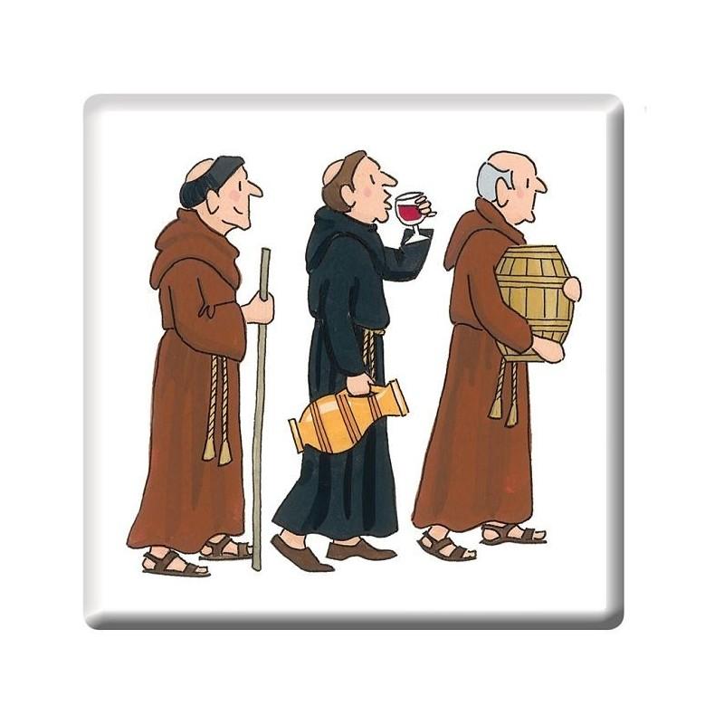 Monks Procession Coaster