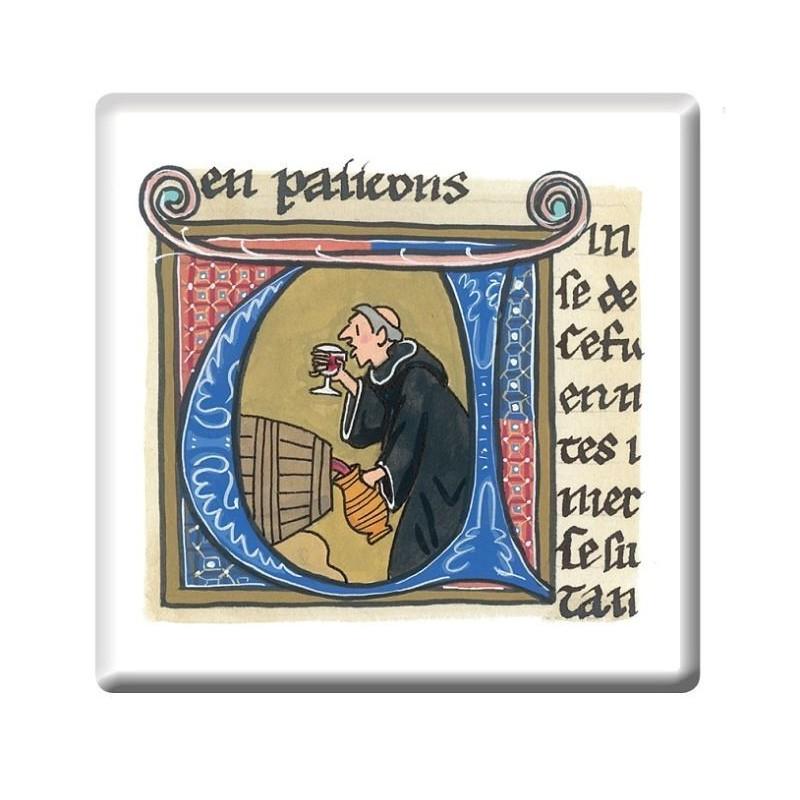 Monks Illumination Coaster