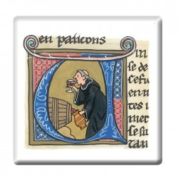 Monks Illumination Fridge Magnet