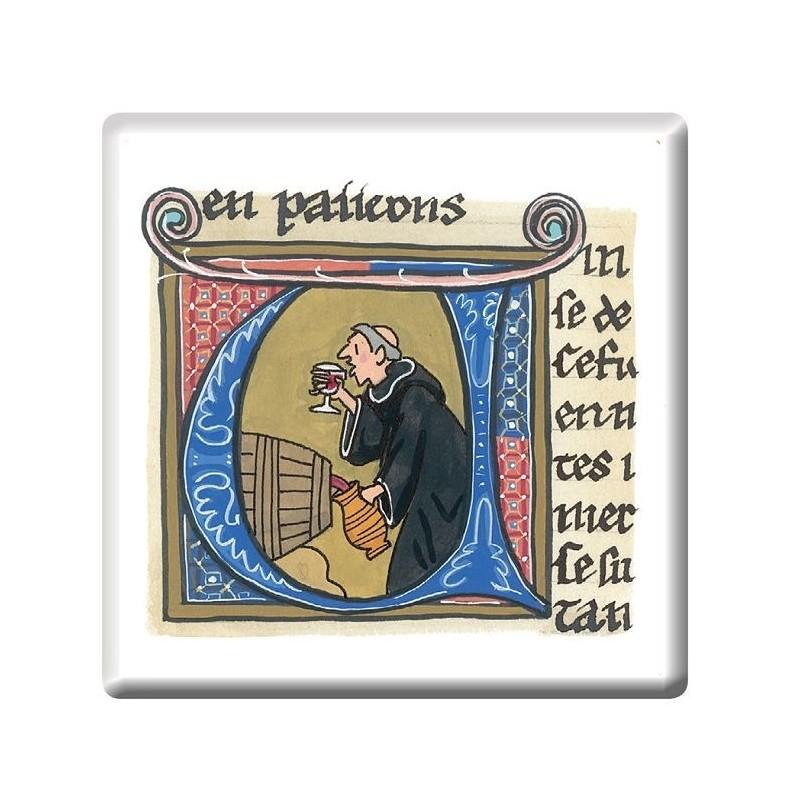 Monks Illumination Fridge Magnet