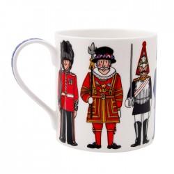 British Figures Mug