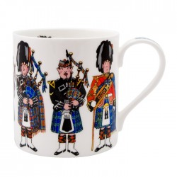 Scottish Pipers Mug