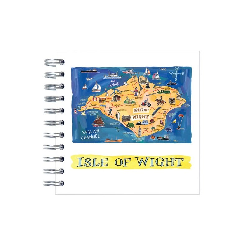 Isle of Wight Map Notebook