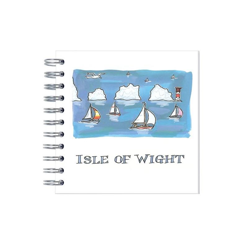 Isle of Wight Needles Notebook