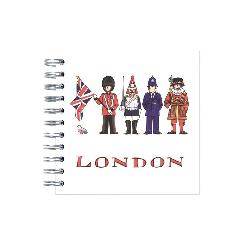 London Figures Notebook