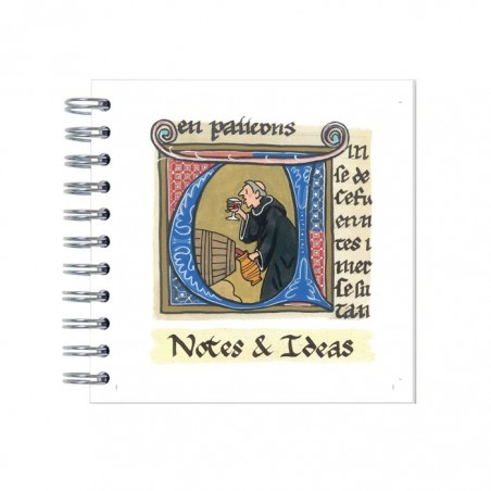 Monks Illumination Notebook