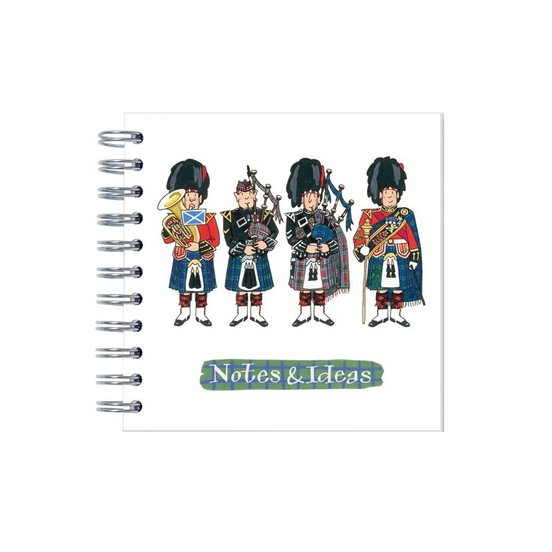 Scottish Pipers Notebook