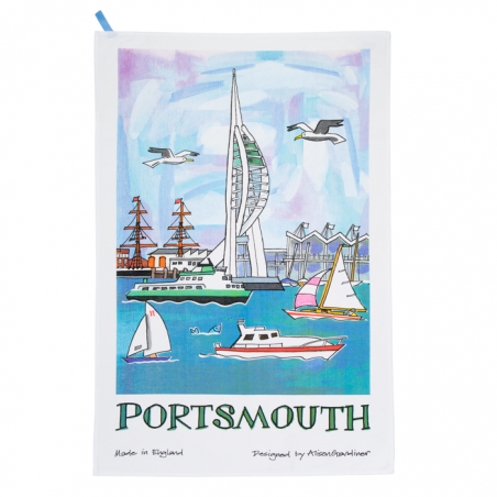 Portsmouth Tea Towel