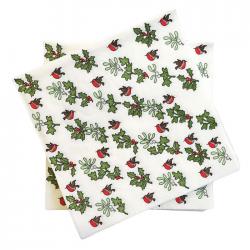 Holly & the Ivy Napkins