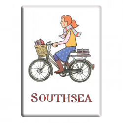 Southsea Girl Fridge Magnet