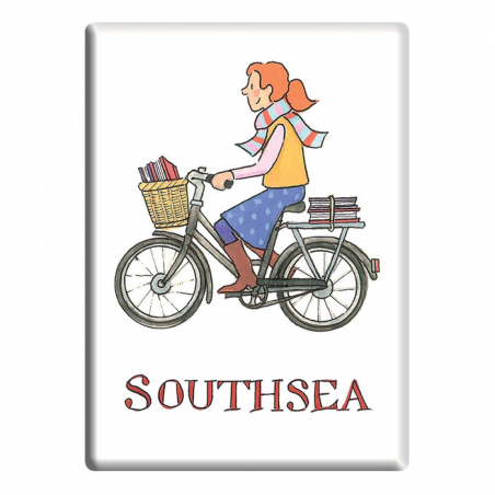 Southsea Girl Fridge Magnet
