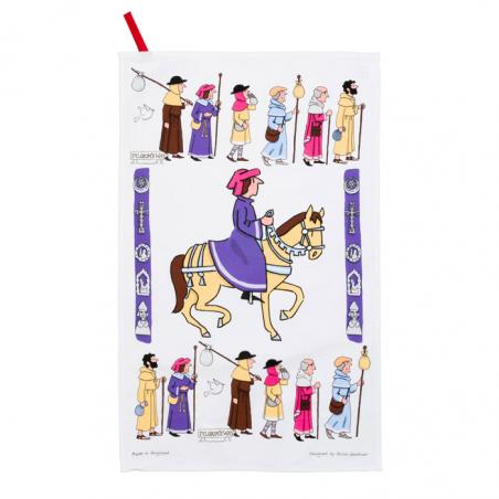 Pilgrims Tea Towel