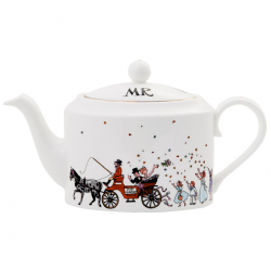 Mr & Mrs Wedding Teapot