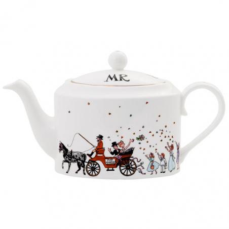 Mr & Mrs Wedding Teapot
