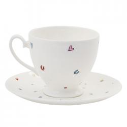 Mrs Wedding Teacup & Saucer
