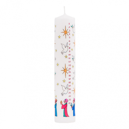 Wise Men Pillar Advent Candle