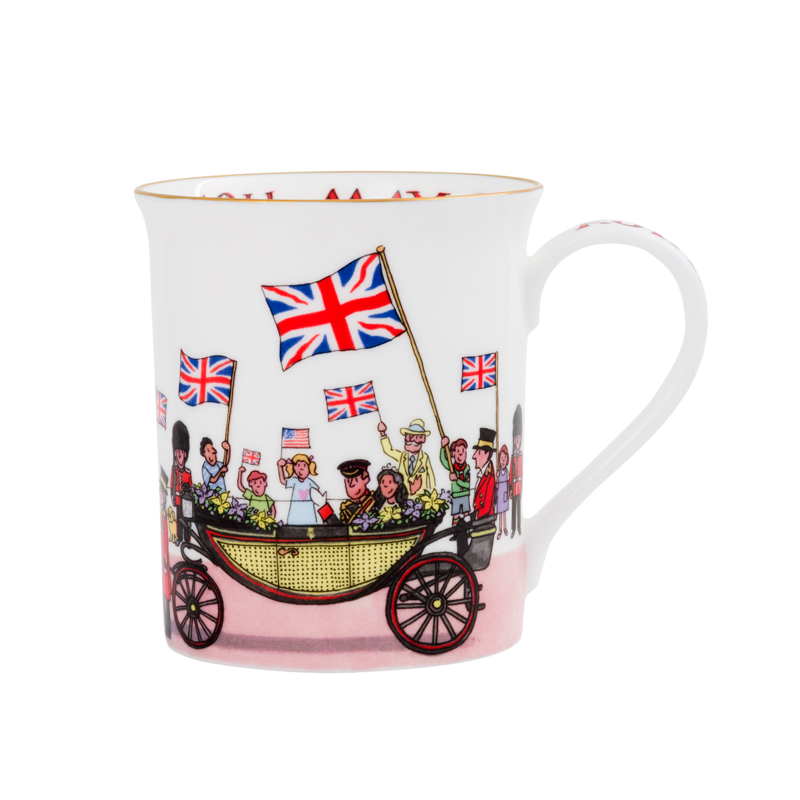 Harry & Meghan Royal Wedding Mug
