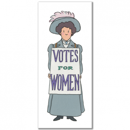 Suffragette Bookmark 1