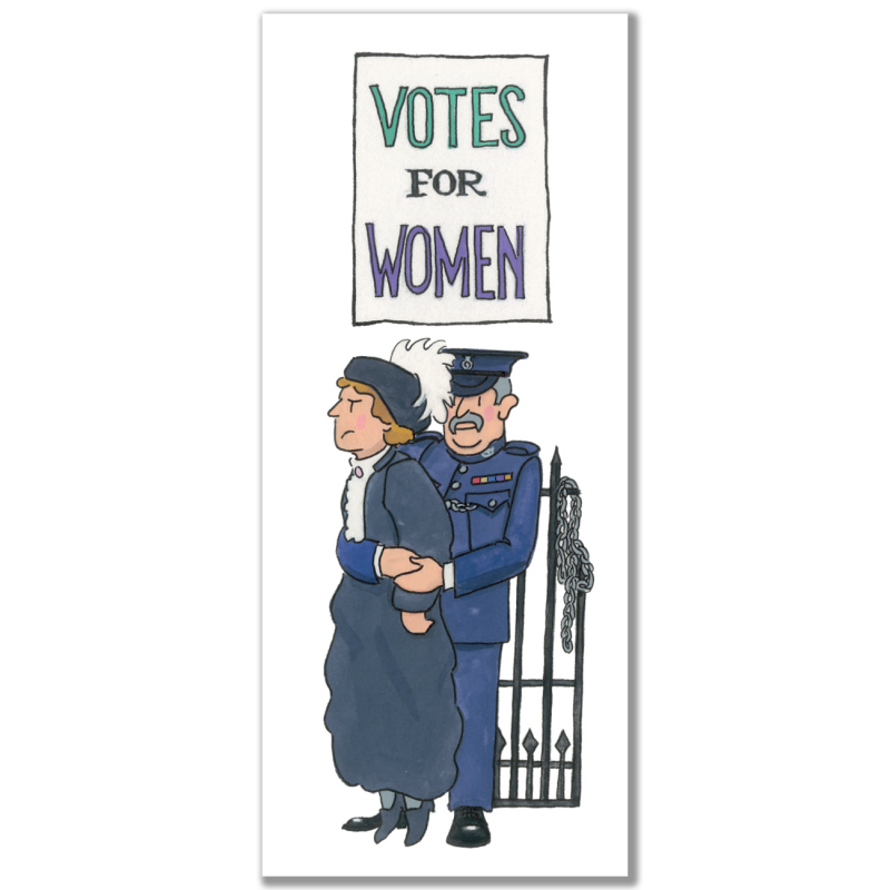 Suffragette Bookmark 2