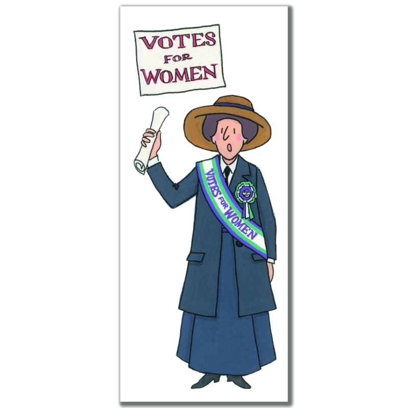 Suffragette Bookmark 3