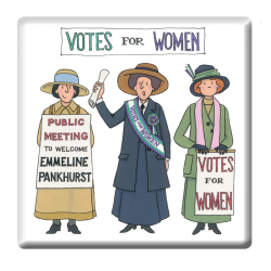 Suffragette Coaster