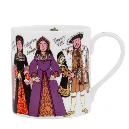 Henry VIII and His Six Wives Mug