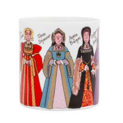 Henry VIII and Six Wives Mug