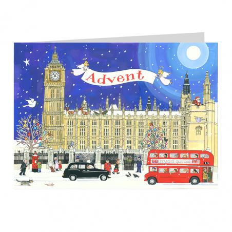 Palace of Westminster Advent Calendar Card