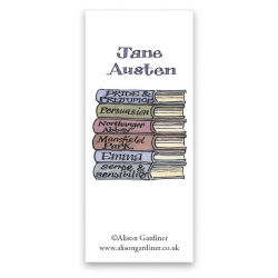Jane Austen Bookmark | Alison Gardiner