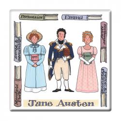 Jane Austen Coaster