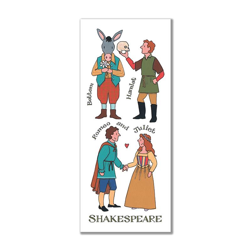 Shakespeare Characters Bookmark