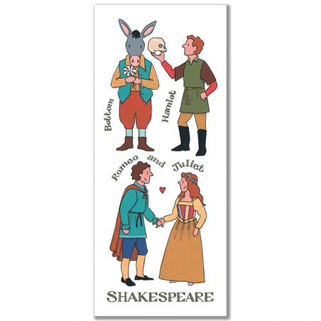 Shakespeare Characters Bookmark