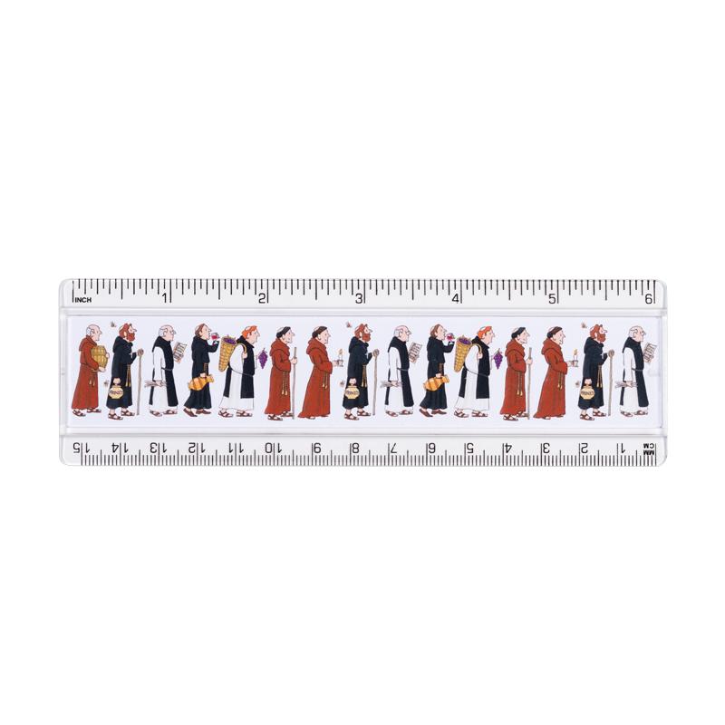 Monks Ruler 15 cm