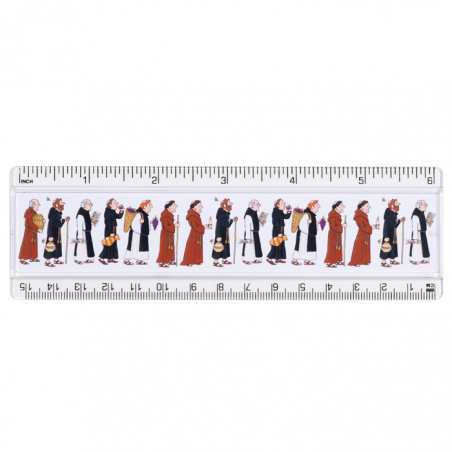 Monks Ruler 15 cm