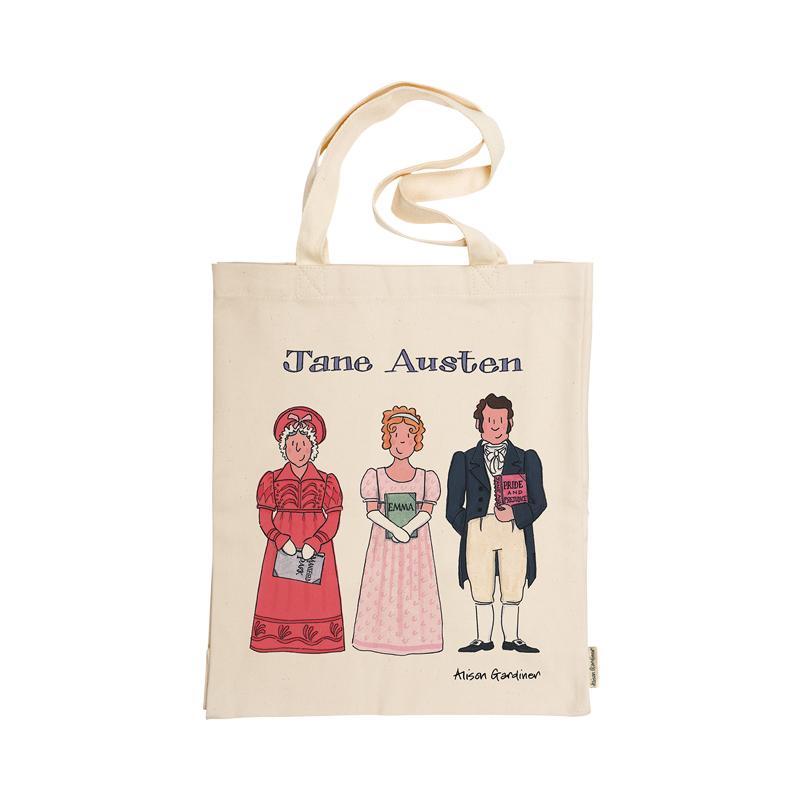 Jane Austen Tote Bag