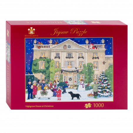 Highgrove House of Christmas Jigsaw Puzzle