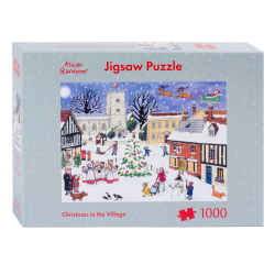 Christmas in the Village Jigsaw Puzzle