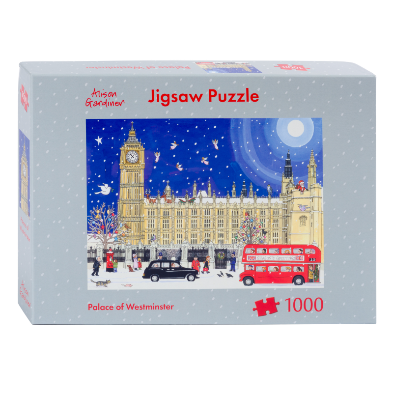 Palace of Westminster Jigsaw Puzzle