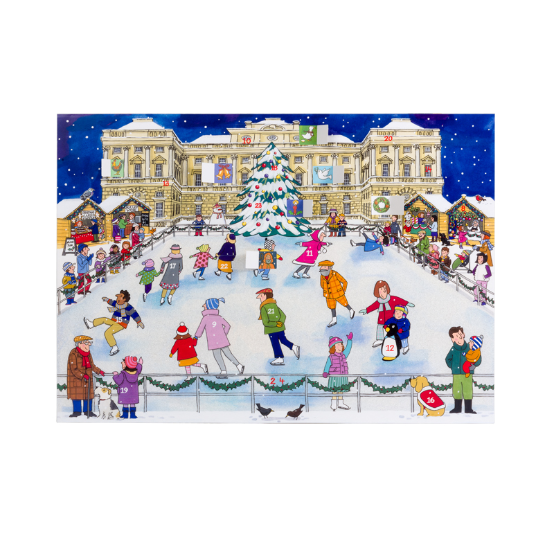 Christmas Ice Skating Advent Calendar