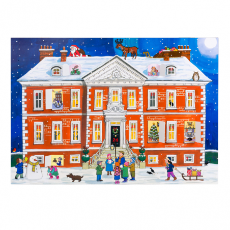 Country House Christmas Advent Calendar